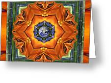 Aura Bamboo Greeting Card by Bell And Todd