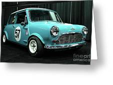 Austin Cooper Greeting Card by Wingsdomain Art and Photography