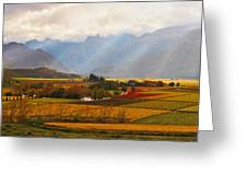 Autumn - Hex-river Valley Greeting Card by Basie Van Zyl