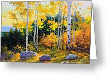 Autumn Beauty Of Sangre De Cristo Mountain Greeting Card by Gary Kim