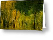 Autumn In Truckee Greeting Card by Donna Blackhall