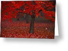 Autumn Greeting Card by Jane Melgaard
