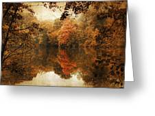 Autumn Reflected Greeting Card by Jessica Jenney