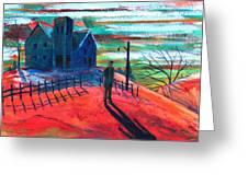 Autumn Greeting Card by Rollin Kocsis