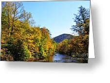 Autumn Williams River Greeting Card by Thomas R Fletcher