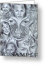 Avanessafacad Greeting Card by Rick Hill