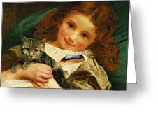 Awake Greeting Card by Sophie Anderson