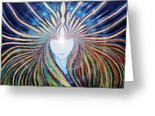 Awakening of Self Greeting Card by NARI - Mother Earth Spirit
