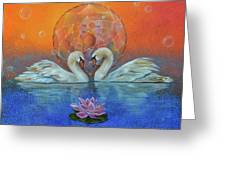 Awakening To The Beauty Within Greeting Card by Sundara Fawn