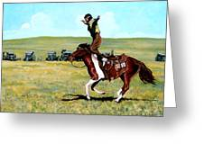 Babette Rides Again Greeting Card by Tom Roderick