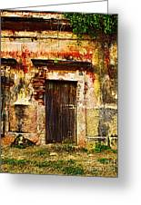 Back Lot By Darian Day Greeting Card by Olden Mexico
