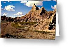 Badlands National Park  Greeting Card by Ruth  Housley