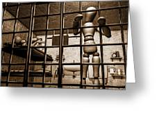 Bail Denied  Greeting Card by Bob Orsillo