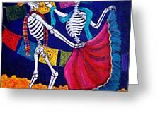 Bailando Greeting Card by Candy Mayer