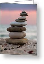 Balance Greeting Card by Stelios Kleanthous
