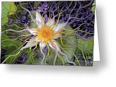 Bali Dream Flower Greeting Card by Christopher Beikmann