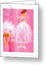 Ballet Sisters 2007 Greeting Card by Marie Loh