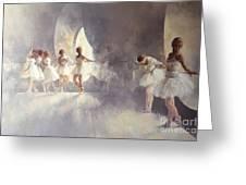 Ballet Studio  Greeting Card by Peter Miller