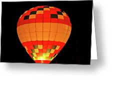 Balloon Glow 1 Greeting Card by Lone  Dakota Photography
