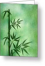 Bamboo Greeting Card by Svetlana Sewell