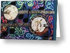 Banjos Greeting Card by Sue Duda