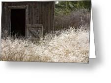 Barn Door Greeting Card by Idaho Scenic Images Linda Lantzy