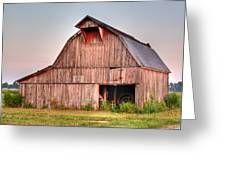 Barn Near Walnut Ridge Arkansas Greeting Card by Douglas Barnett