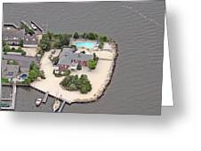 Barnegat Bay House Mantoloking New Jersey Greeting Card by Duncan Pearson