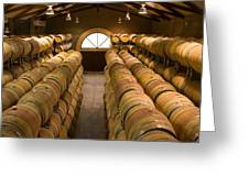 Barrel Room Greeting Card by Eggers   Photography