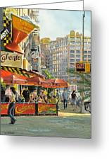 Barrow And Bleecker Greeting Card by Tom Hedderich