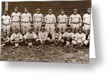 Baseball: Negro Leagues Greeting Card by Granger
