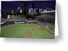 Baseball Target Field  Greeting Card by Paul Plaine