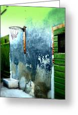 Basketball Court Greeting Card by Funkpix Photo Hunter