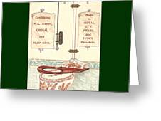 Bathroom Picture Five Greeting Card by Eric Kempson