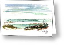 Battery Payne Fort Pickens Florida Greeting Card by Paul Gaj