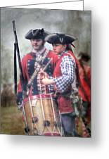 Battle Drums Greeting Card by Randy Steele