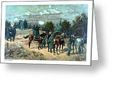 Battle Of Chattanooga Greeting Card by War Is Hell Store