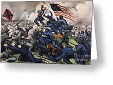 Battle Of Fort Wagner, 1863 Greeting Card by Granger