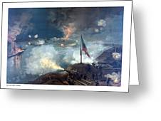 Battle Of Port Hudson Greeting Card by War Is Hell Store
