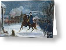 Battle Of Trenton, 1776 Greeting Card by Granger