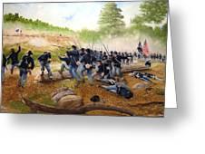 Battle Of Utoy Creek Greeting Card by Marc Stewart