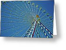 Bavarian Fairy Wheel Greeting Card by Juergen Weiss