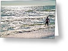 Beach Adventure Greeting Card by Patrick M Lynch