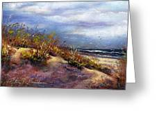 Beach Dune 1 Greeting Card by Peter R Davidson