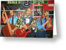 Beale Street Greeting Card by John Keaton