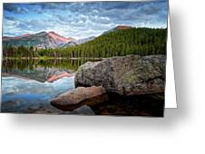 Bear Lake Rocky Mountain National Park 3172 Greeting Card by Ken Brodeur