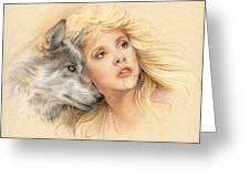 Beauty And The Beast Greeting Card by Johanna Pieterman