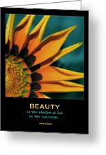 Beauty Greeting Card by Bonnie Bruno