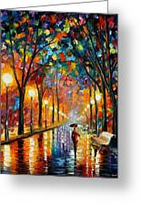 Before The Celebration Greeting Card by Leonid Afremov