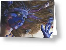 Being Art Greeting Card by Katherine Huck Fernie Howard